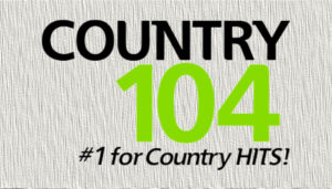 Country 104 Radio Logo