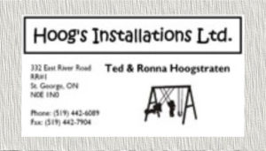 Hoogs Installation Logo