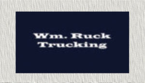 WM Ruck Trucking Logo