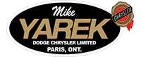 Mike Yarek Dodge Chrysler Dealership Logo