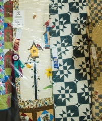 Display of Quilts