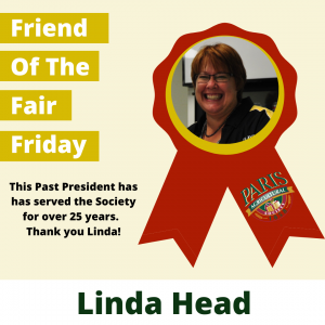 Linda Head Friday Friend of the Fair