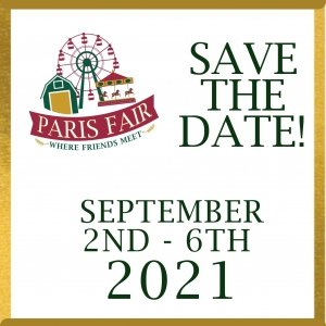 Save the date image Sept 2-6, 2021